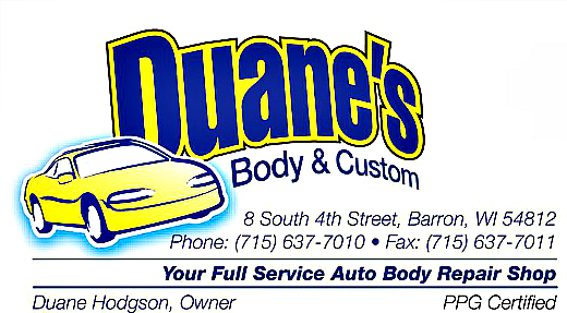 Duane's Body and Custom